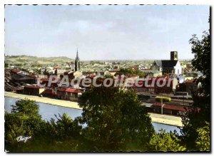 Postcard Modern Agen Vue Generale Canal