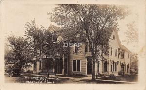 C78/ Heron Lake Minnesota Real Photo RPPC Postcard c1910 SW Minnesota Hospital