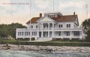 Wisconsin Oshkosh Yacht Club House