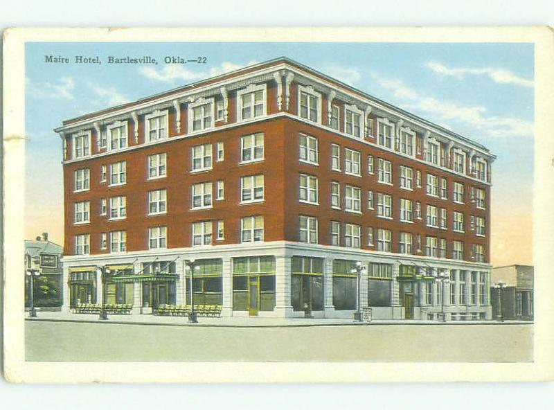 W-Border MAIRE HOTEL Bartlesville Oklahoma OK HQ4717
