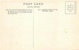 Woolverstone Church, Ipswich, England ca 1910s Hand-Colored Vintage Postcard
