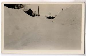 RPPC, Deep Snow, ? Oswego Co Collection