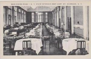New York Mcgregor Main Dining Room N Y state Veterans Rest Camp Artvue