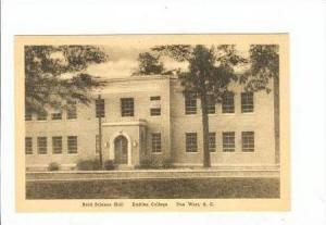 Erskine College, Reed Science Hall, Due West, South Carolina, 10-20s