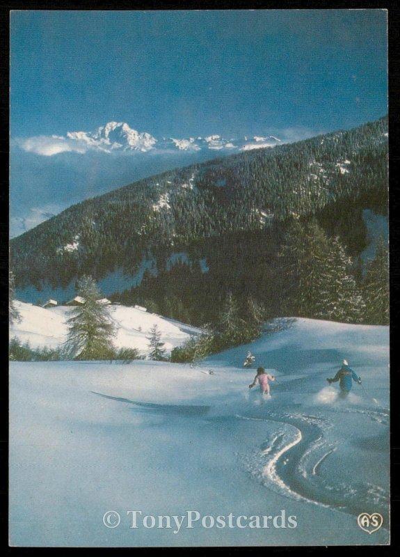 L'hiver dans nes montagnes - Jeux de Neige