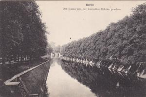 Der Kanal Von Der Cornelius Brucke Gesehen, BERLIN, Germany, 1900-1910s