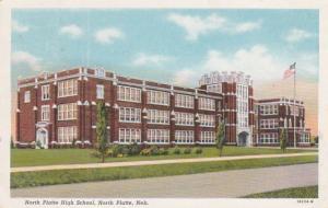 Nebraska North Platte High School 1945 Curteich
