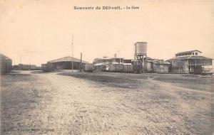 Djibouti Souvenir - La Gare, Station, Bahnhof