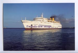 SIM0100 - Dane Sea Line Ferry - Kamiros , built 1966 ex Prins Hamlet - postcard