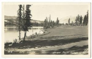 Canada, Alberta, Golf Course at Jasper Park Lodge RP PPC, Unposted
