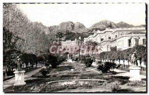 Old Postcard Menton Gardens Deep Palace Lutetia