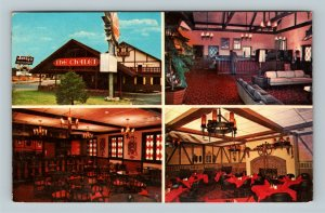 Cleveland TN, Quality Court, Chalet Motel, Chrome Tennessee c1972 Postcard