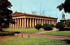 Tennessee Nashville Centennial Park The Parthenon 1964