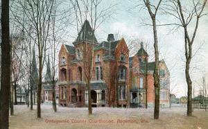 WI - Appleton. Ontagamie County Courthouse