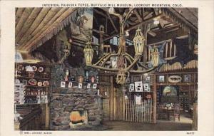Colorado Lookout Mountain Interior Pahaska Tepee Buffalo Bill Museum