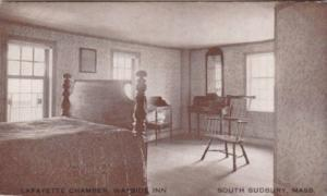 Massachusetts South Sudbury Lafayette Room Wayside Inn