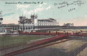 New Jersey Atlantic City Steeplechase Pier 1909