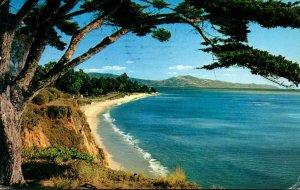 California Santa Barbara Channel Drive 1958