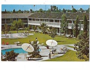 Hyatt Tradewinds Motor Hotel Motel Parkway Drive Fresno California