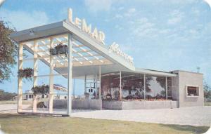 Western Springs Illinois ? LeMar Flowers Street View Vintage Postcard K41507