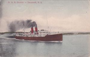 YARMOUTH, Nova Scotia , Canada , PU-1906; D. A. R. Steamer