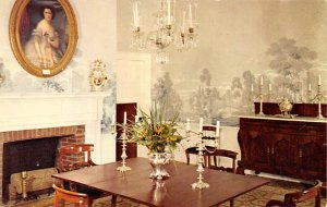 KY Postcard, Kentucky Post Card Dining room My old Kentucky home Unused
