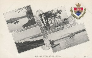 ST. JOHN , New Brunswick , Canada, 1900-10s; River Views