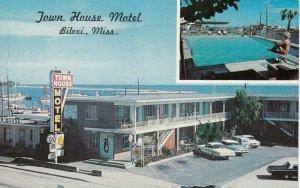 BILOXI, Mississippi, 1950-60s ; Town House Motel