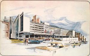 MARTINIQUE Hotel Motor Inn , Downtown , MONTREAL , Quebec , Canada , 50-60s