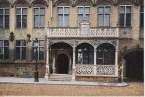 FURNES, West Flanders, Belgium, 1900-1910's; Perron De L'Hotel De Ville