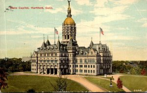 Connecticut Hartford State Capitol Building 1913
