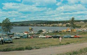 LAKE LA HACHE, British Columbia, Canada, 1950-1960s; Cariboo Regatta