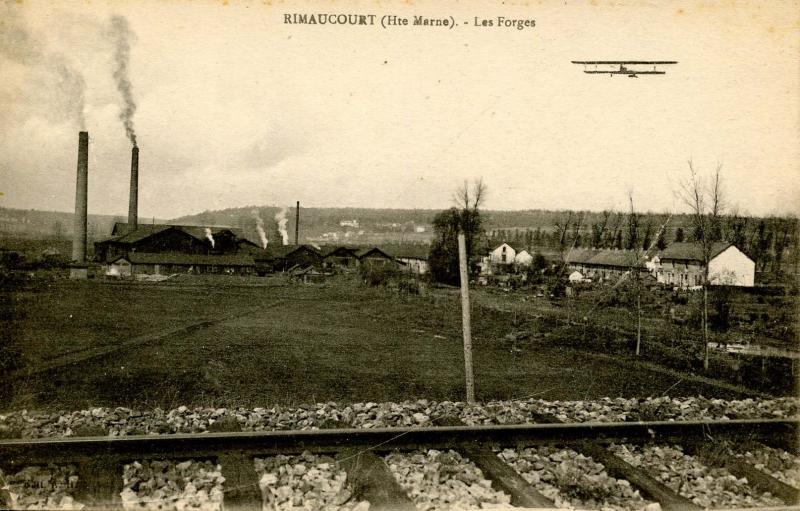 France - Rimaucourt (The Marne)- Les Forges (Pre-1920 Aviation)
