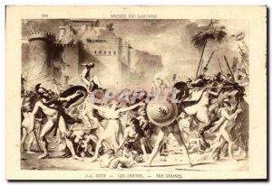 Paris 1 - Louvre Museum - David - The Sabine Old Postcard