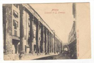 Milano, Italy, 1890s   Colonne di S. Lorenzo