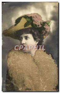 Old Postcard Actress