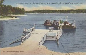 Arkansas Lake Norfork Panther Bay Landing Ferry