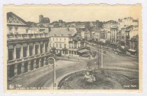 La Statue De Gretry Et Le Grand Teatre, Liege, Belgium, 1900-10s
