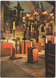 Sarajevo, Old Serb Orthodox Church, Interior, unused Postcard