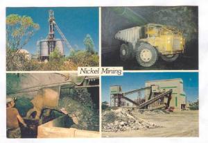 Nickle mining , KAMBALDA, W.A., , Australia , 50-70s