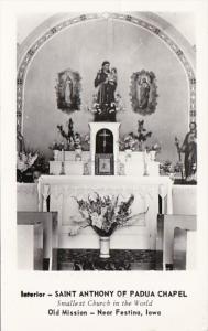 Iowa Festina Saint Anthony Of Padua Chapel Interior Photo