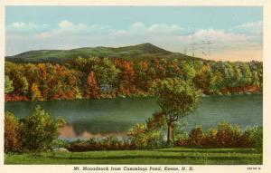 NH - Mt Monadnock  from Cummings Pond, Keene