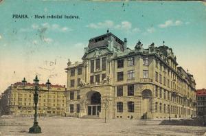 Czech Republic Praha Nová radnici budova 02.36