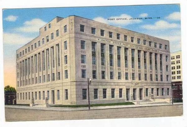 Post Office, Jackson, Mississippi, PU-1951