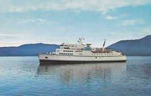 B.C. Govt. Ferry Queen of Prince Rupert Prince Rupert,  B.C.,  Canada,  40-60s