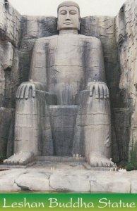 Sichuan province , CHINA , 1950-70s ; Leshan Buddha Statue