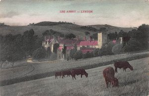 Lee Abbey, Lynton, England, Early Hand Colored Postcard, Unused