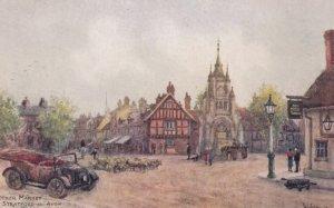 Stratford-upon-Avon, Warwickshire, England, 1900-10s ; Rother Market