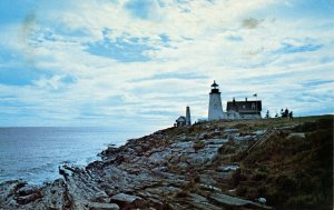 ME - Pemaquid Light and Casco Bay