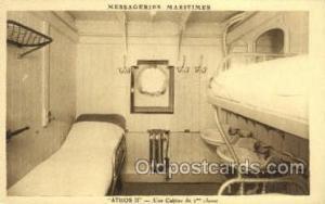 Athos II Ship Postcard Postcards  Athos II